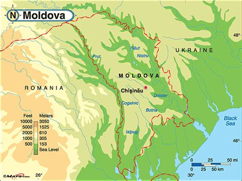 moldova world map moldova physical map by maps from maps world s