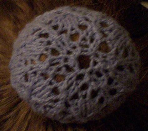 free knitting pattern hair net snowflake snood free knitting pattern hair net cover