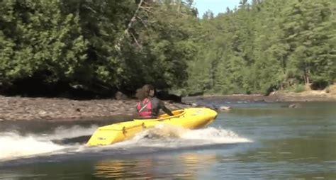 mokai motorized kayak the mokai watercraft a modular motorized kayak