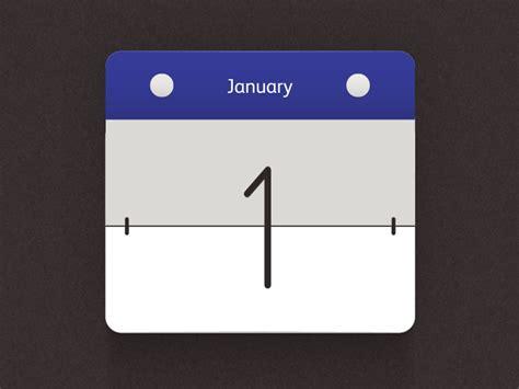 Flip Calendar Calendar Flip By Joshua Sorosky Dribbble