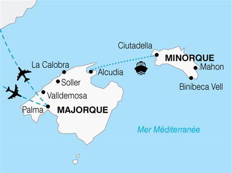 Combiné 2 îles : Majorque et Minorque