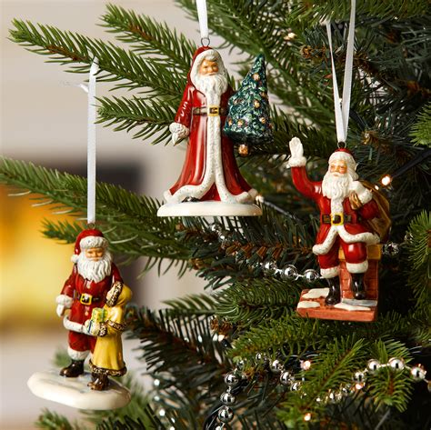 christmas story tree ornaments santa on chimney ornament hn5863 royal doulton figurine seaway china company