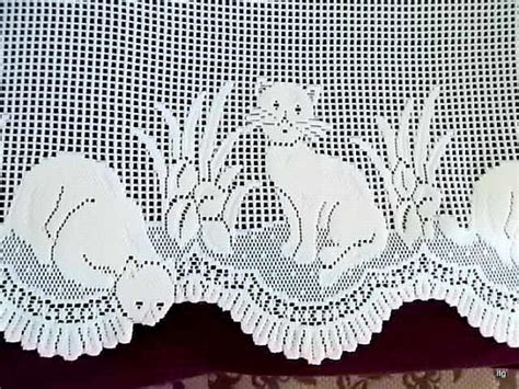 cat lace curtains vintage ivory heritage lace cat curtains by