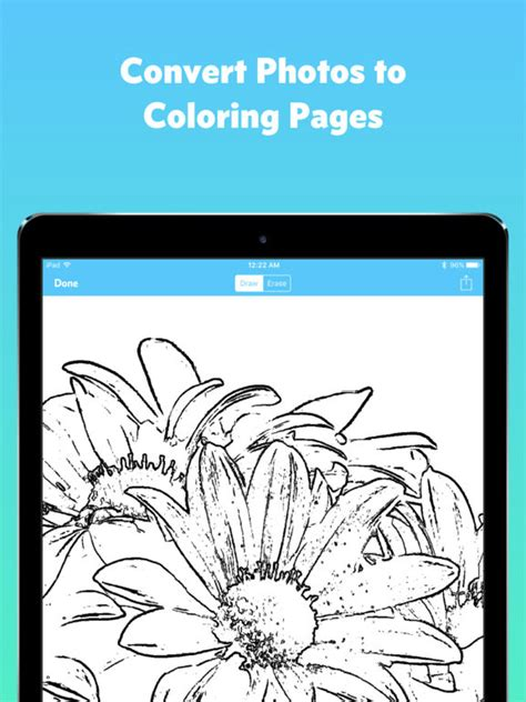 awesome ipad screenshot with convert pictures to coloring pages