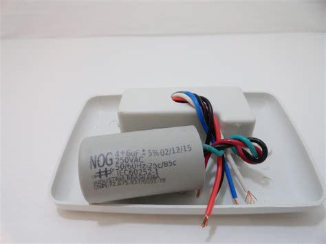 o que é capacitor de ventilador de teto controle para ventilador de teto capacitor r 39 90 em mercado livre