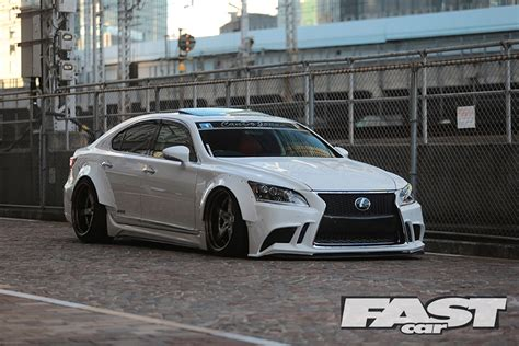 Modified Lexus Ls600h Fast Car
