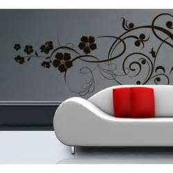 Flower Wall Art Stickers Flower Wall Art Home Improvement