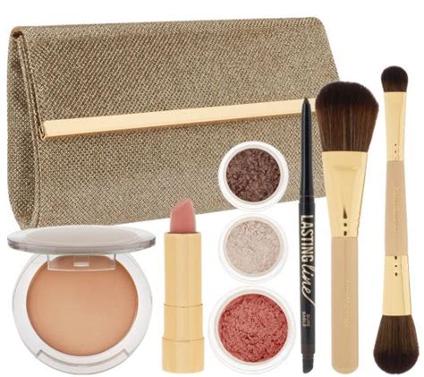 Bare Minerals Makeup Lift And Glow Set With Pouch Original bare minerals chandelight glow 2014 qvc today s special value musings of a muse