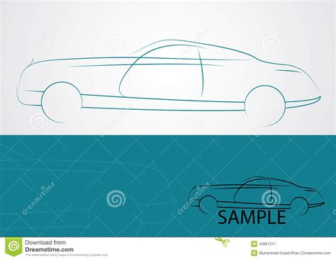 auto salesman business cards illustrator templates free car logo design stock vector image 43967217