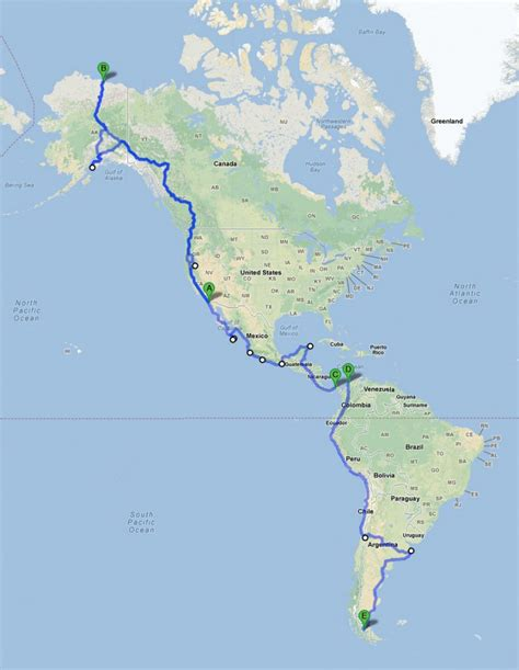 map of the pan american highway pan american highway map memes