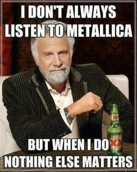 Metallica Memes - 70 sweet music memes
