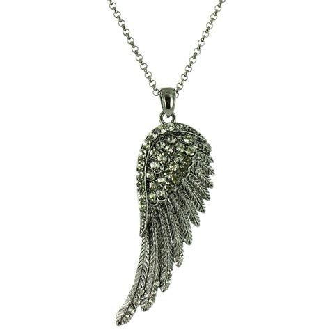bling wing necklace bling from