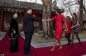 the first ladys trip to china the white house did michelle obama meet china s secretive princess xi