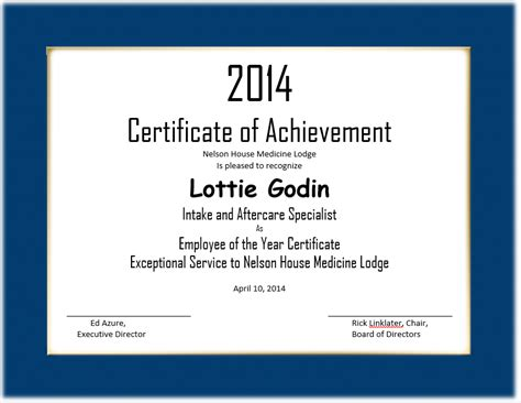 best employee award template inspiring sle of certificate of achievement for