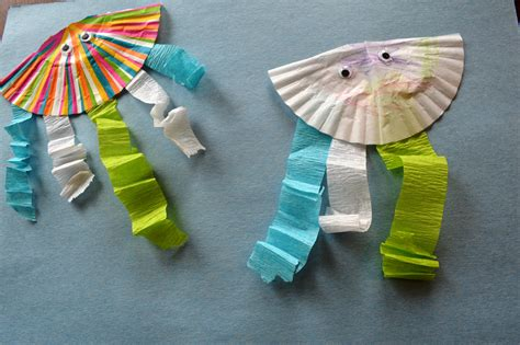 sea crafts for kid craft the sea jellyfish food fam crafts