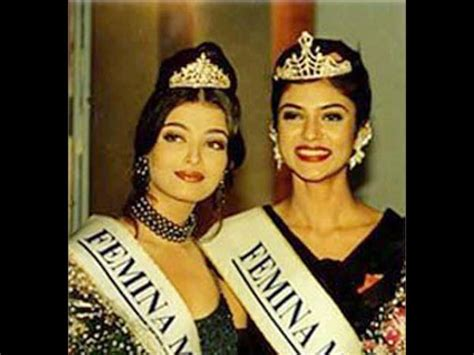 sushmita sen gown miss india pictures of when aishwarya rai bachchan lost her crown to