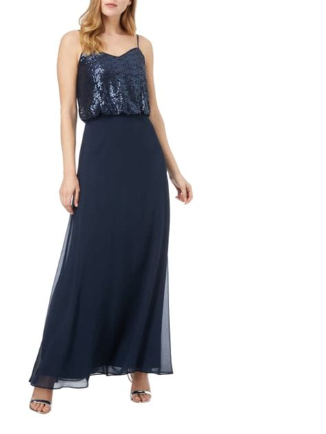 Swing Abendkleid Dunkelblau by Kleider In Gr 214 223 E 48 Kaufen P C Shop