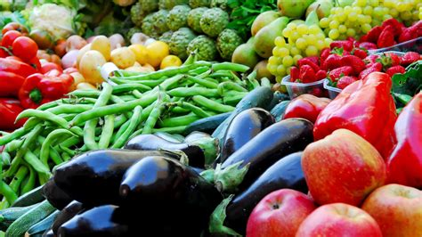vegetables e organic fruits and vegetables give health