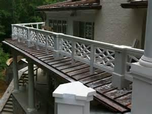 Custom Porch Railings Custom Curved Chippendale Rail