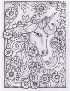 printable coloring pages for adults unicorn unicorn greyscale drawing unedited coloring pages