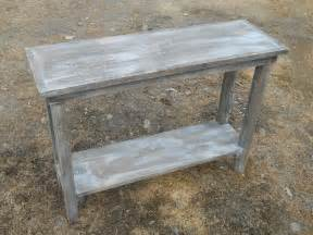 rustic handcrafted handmade barn wood sofa table barn