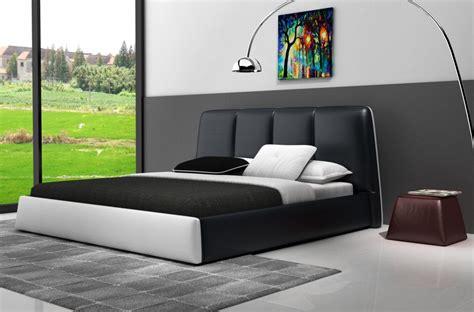 lit de luxe design lit design en cuir italien de luxe verdi noir et blanc mobilier priv 233