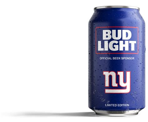 big can of bud light giants gab blog for new york giants fans