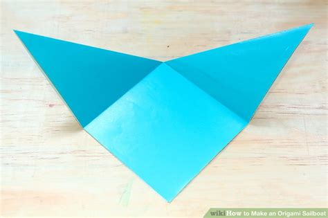 How To Make An Origami Wikihow - how to make an origami sailboat 9 steps with pictures