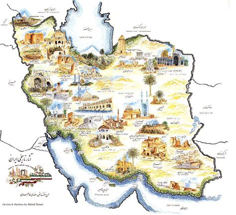 tourist map of tourist map of iran welcome to iran