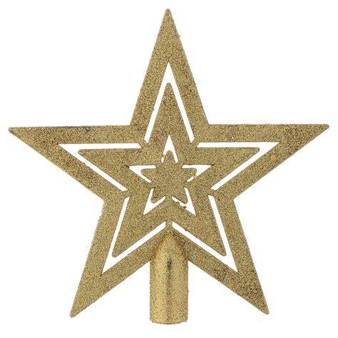 estrella de arbol de navidad punta 193 rbol de navidad forma de estrella dorada