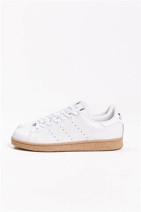 white sneakers gum sole lyst adidas originals stan smith gum sole sneaker in