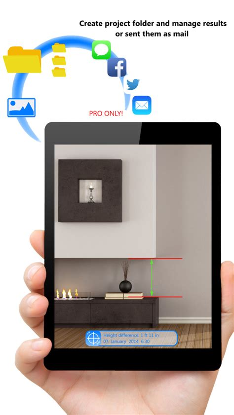 app for measuring rooms cammeasure smart measure any height width distance and area with your ios