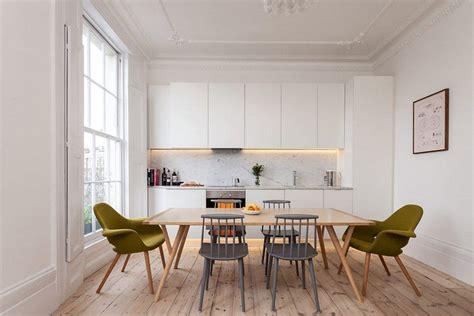 london flat refurbished  provide  open plan kitchen
