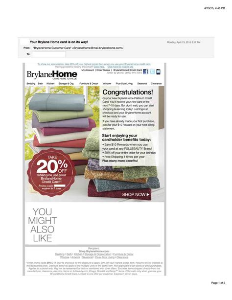 got another pre approval for brylane home from