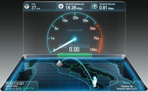 adsl speed test test adsl connessione misurazione della velocit 192 di
