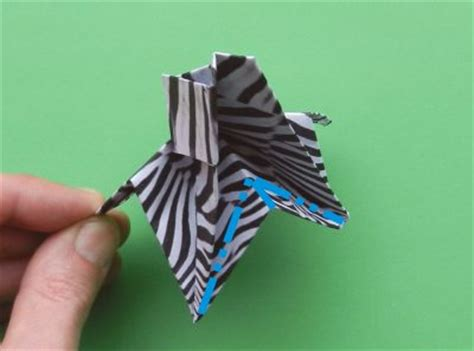 How To Make A Origami Zebra - joost langeveld origami page