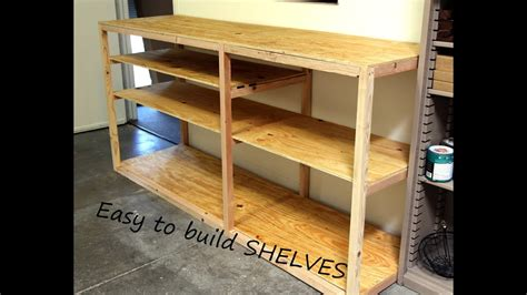 diy shop  garage shelf  storage  organization