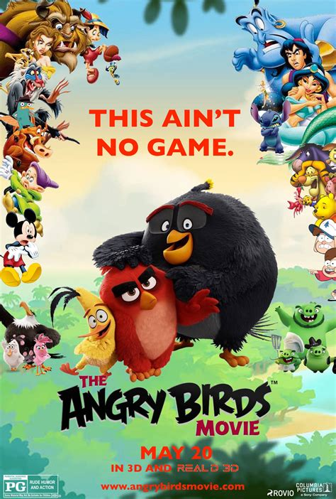 angry birds movie poster 18 of 27 imp awards the angry birds movie poster fm by edogg8181804 on