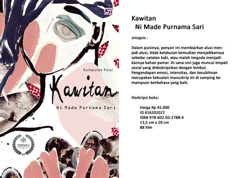 layout buku puisi buku pemenang sayembara manuskrip puisi dkj 2015 segera