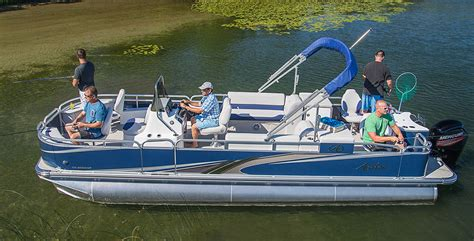 best fishing pontoon boat on the market 6 of the best fishing pontoon boats for fishing of 2018