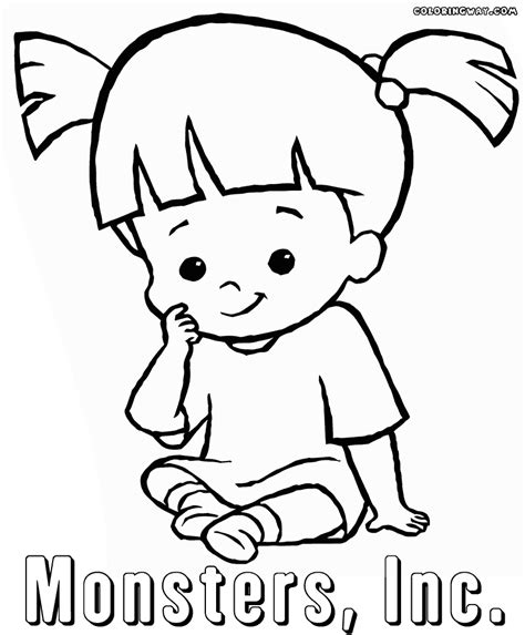 monsters inc coloring pages coloring pages to download