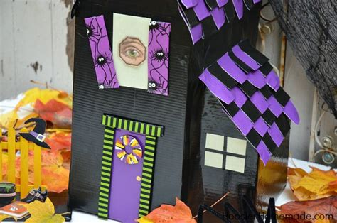 How To Make A Haunted House Out Of Paper - how to make a haunted house with duck hoosier