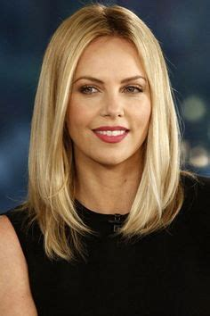 bob hairstyle with part down the middle 1000 ideas about long blunt haircut on pinterest