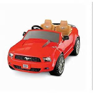 fisher price power wheels ford mustang ride on
