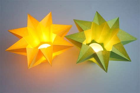windlicht stern sonstige sterne basteln