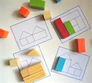 Free Printable Block Puzzles Blocks Building Activities Pinterest Sun Patterns And Building Blocks Template