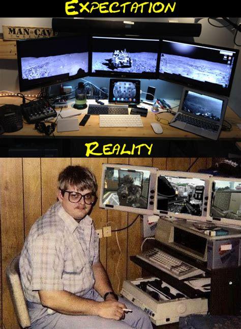Pc Setups when i setup my new black ops gaming pc meme guy