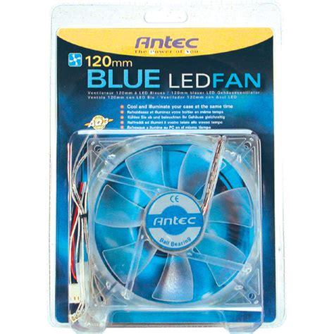 Antec C400 120mm Blue Led Cpu Cooler Heatpipe All Intel Amd 1 antec blue led 120mm cooling fan