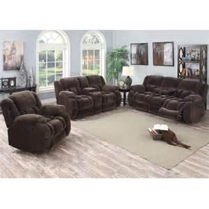 sofa loveseat recliner magnum living room reclining sofa loveseat mocha