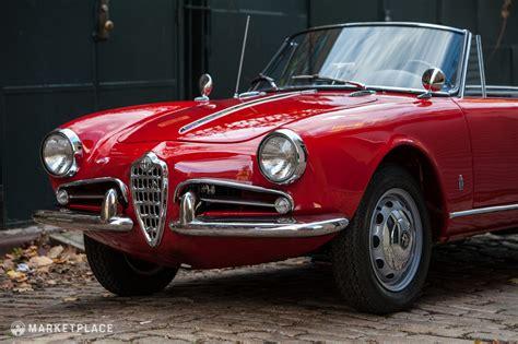 1962 Alfa Romeo by 1962 Alfa Romeo Giulietta Spider Veloce 125 000